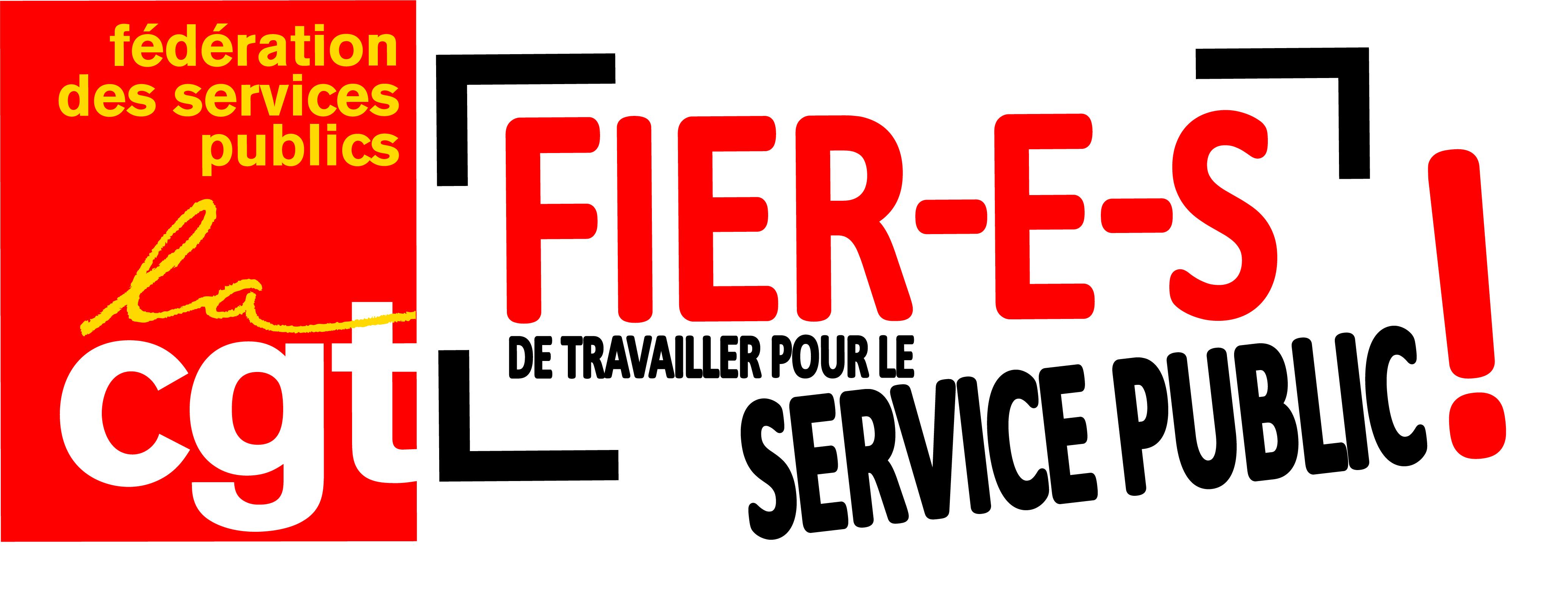 39818161932 Fédération CGT des services publics   Logos